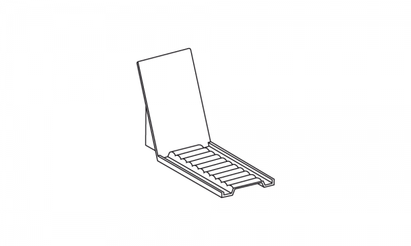 OS Mobile Rückenlehne, glasklar