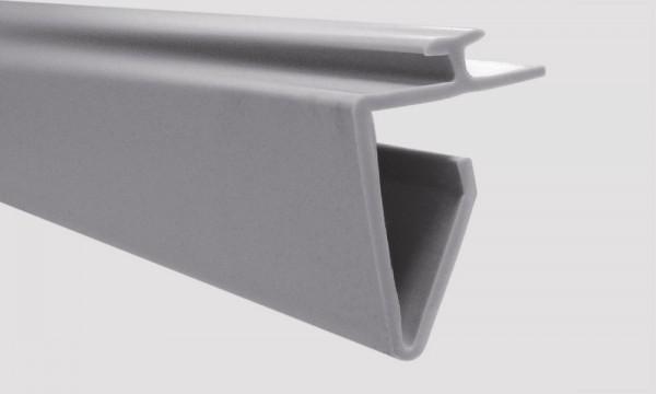OS 2 Fixierungsleiste für Warenteiler H 120 × L 192 mm und H 120 mm × L 448 mm, lichtgrau