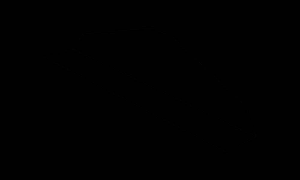 L-Unterteiler, glasklar