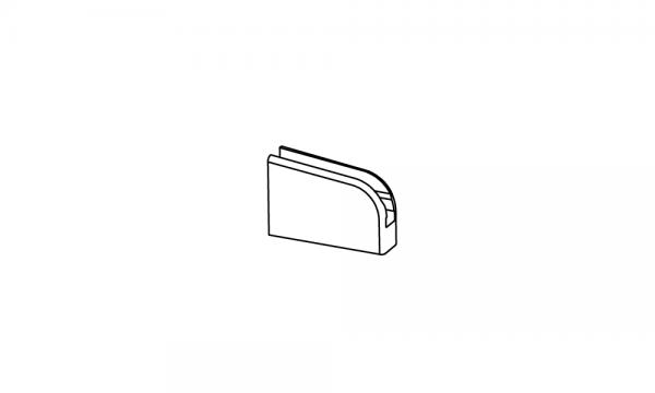 OS Warenteiler-Clip mit Magnet, glasklar