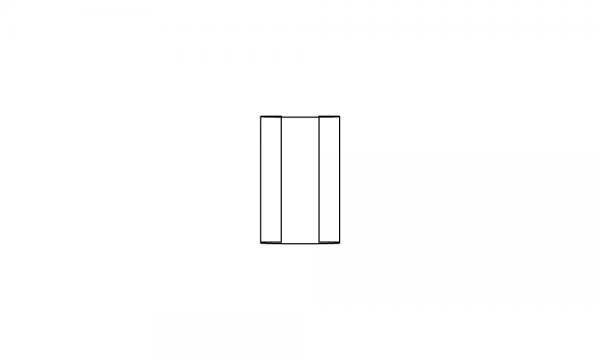 OS Labelhalter für Warenvorschubkasten groß, glasklar