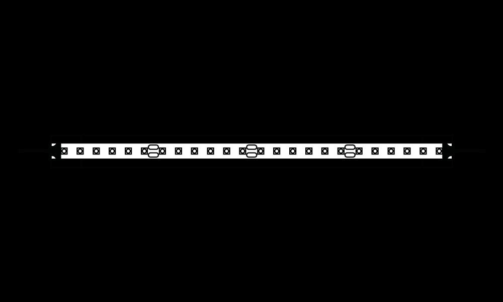 LED-Beleuchtung FlexbandSuperline 2, Lichtfarbentemperatur: 24 V, 3000 K warmweiß oder 24 V, 4000 K